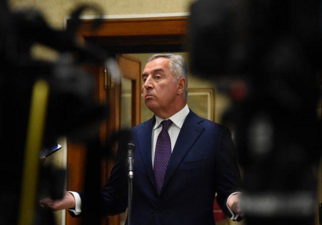 Milo djukanovic predsjednik crne gore